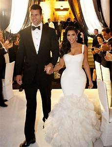 Kim kardashian and kris humphries divorce only miss m for Kim kardashian s wedding dress