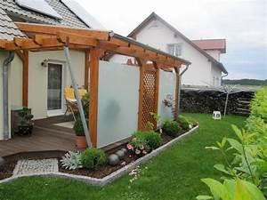 Windschutz Terrasse Selber Bauen : terrassen sichtschutz ideen ~ Watch28wear.com Haus und Dekorationen