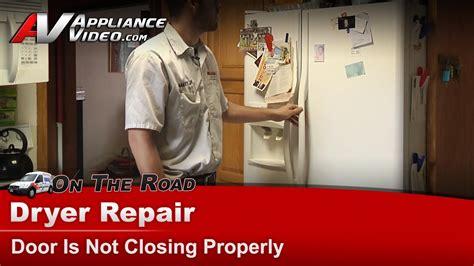 frigidaire refrigerator diagnostic door   closing
