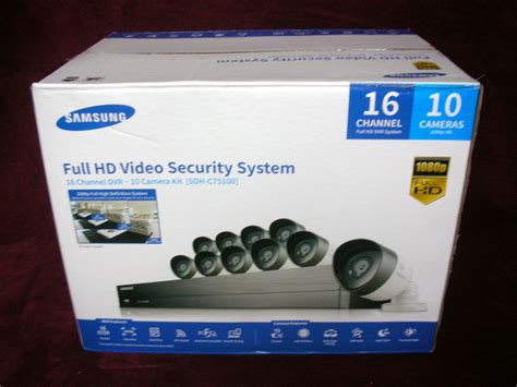 samsung security system new samsung 16 channel 1080p hd 2tb security system with