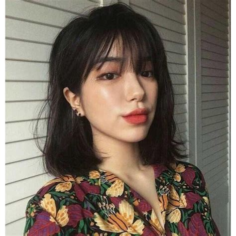 korean hairstyle with bangs 2018 hairstyles