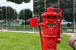 Fire Sprinkler System  Piv  Post Indicator Valve