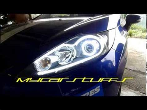 ford fiesta mk diy led tube   projector  led