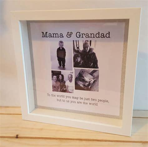 personalized box frame mamma birthday gift