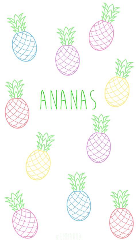 fond decran ananas pour smartphone emmabrdtest