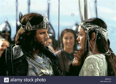 Viggo Mortensen Liv Tyler The Lord Of The Rings Iii The