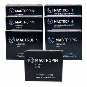 Pack Lean Mass Gain Advanced - Mactropin - Sustanon    Primobolan  8 Weeks