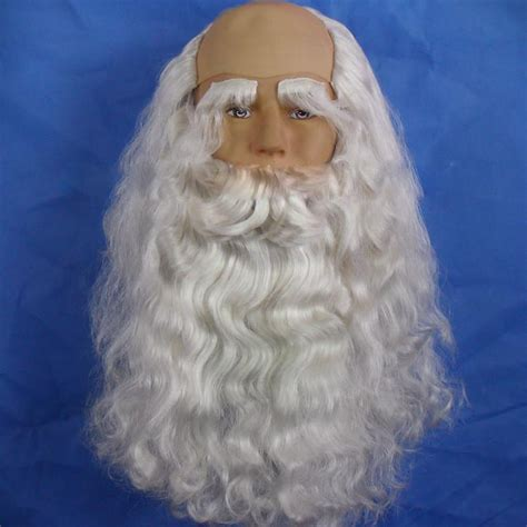 santa claus wigs realistic lace front wig