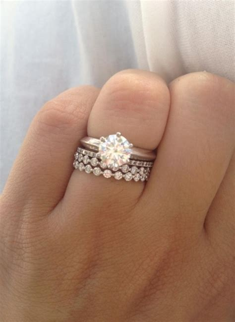 show   stacked wedding bands