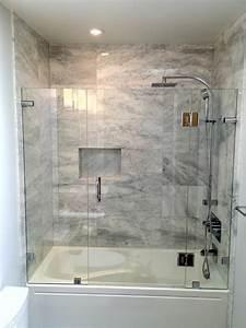 Shower, Enclosures, -, Contemporary, -, Bathroom