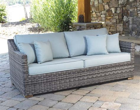 furniture patio outdoor furniture grey wicker patio