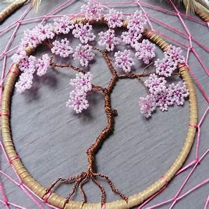 Tuto Attrape Reve Arbre De Vie : attrape reves arbre de vie fleurie maison et deco ~ Voncanada.com Idées de Décoration