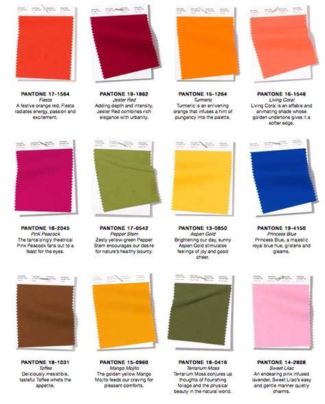 mode color gespot op de catwalk pantone s modekleuren lente zomer