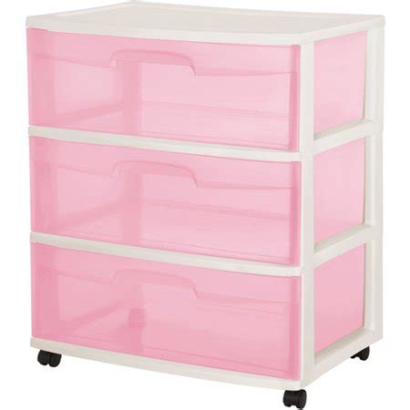 sterilite 5 drawer cart sterilite 3 drawer wide cart walmart
