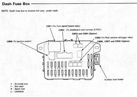 1990 Honda Civic Fuse Box by 1990 Honda Civic Dx Starting Issue Pleeease Help Honda Tech