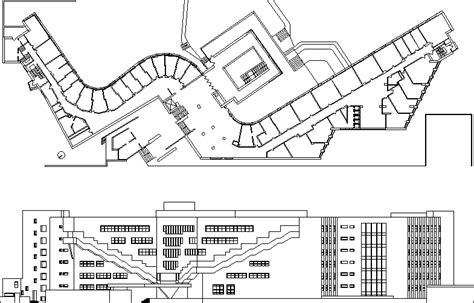 aaltoalvar bakerhouse dwg plan  autocad designs cad