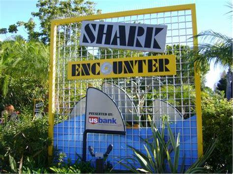 Shark Encounter Seaworld San Diego