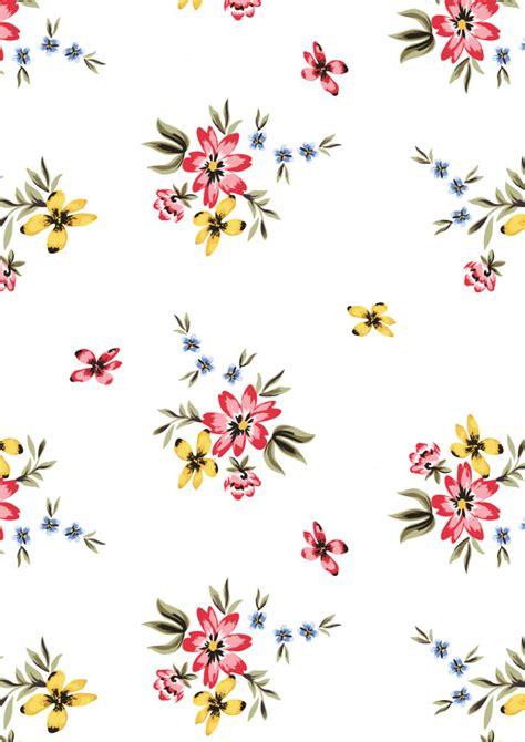 floral aop vector premium