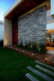 Contemporary Exterior Wall Design