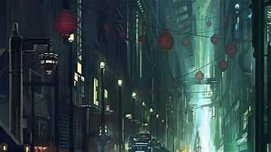 Futuristic Cityscapes Train HD Wallpaper » FullHDWpp ...