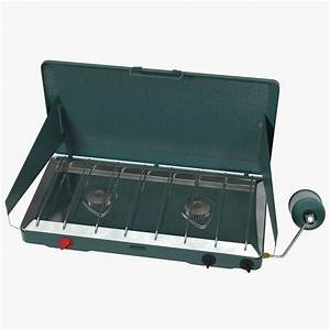 3d model portable propane stove