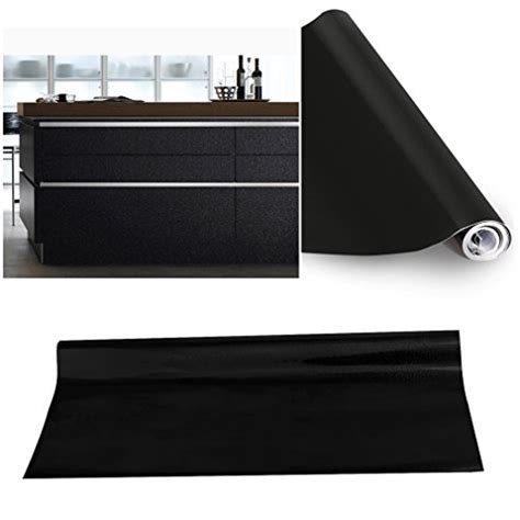 autocollant pour armoire de cuisine top kinlo mm papier peint autoadhsif noir pour armoire de