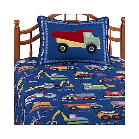 construction comforter set olive construction comforter set bed bath beyond