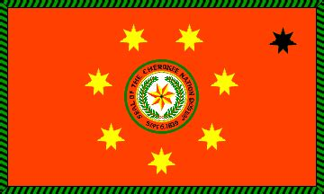 Tsa Stand For by Cherokee Nation Flags