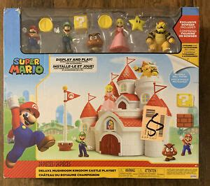 World of Nintendo ~ DELUXE CASTLE PLAYSET TRU EXCLUSIVE w ...