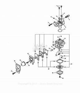 Echo Ppt-230 S  N  04001001 - 04999999 Parts Diagram For Carburetor