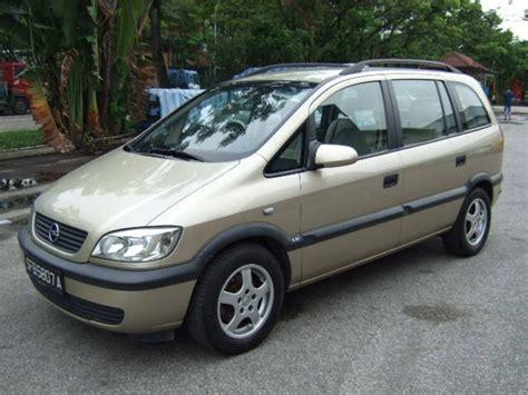 Opel Zafira Interior by Opel Zafira 2002 Interior Image 74