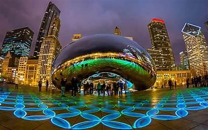 Places America Chicago Tourist Illinois Visited Usa