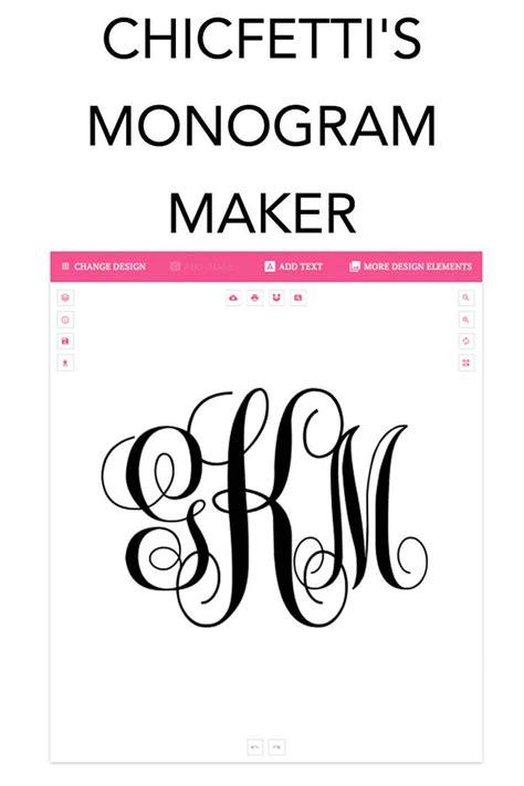 monogram maker monogram maker script monogram font monogram template