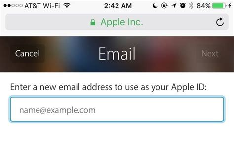 change email address on iphone your apple address for icloud doesn t to be permanent