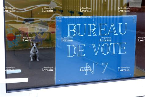 bureau de vote 15 thionville photos faible participation à l 39 élection