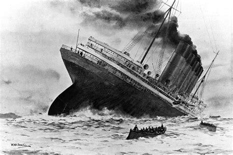 rms lusitania sinking the sinking of the rms lusitania paranoia magazine