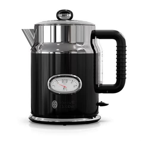 retro tea kettle retro style electric kettle black stainless steel 1949