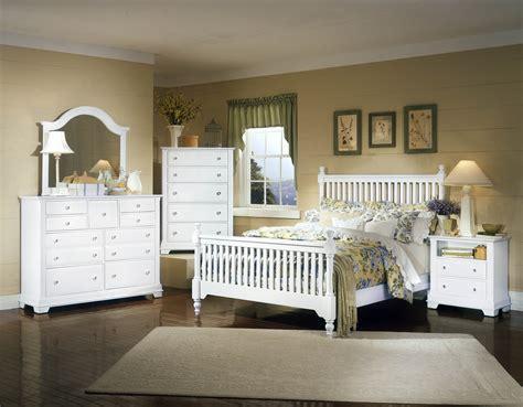 Vaughan Bassett Bedroom Sets by Vaughan Bassett Cottage Bb24 White Bedroom