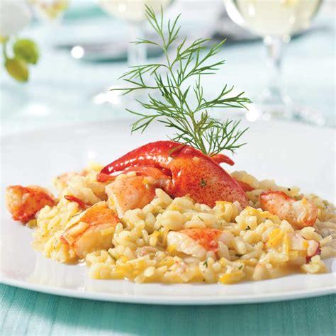 cuisine homard risotto au homard et poireau recettes cuisine et