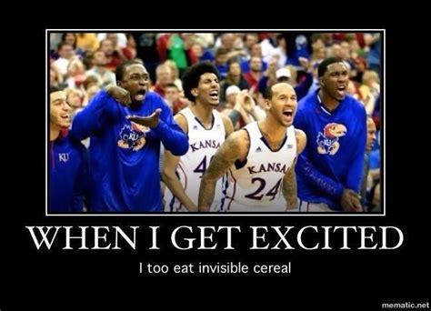 Eating Cereal Meme - bahaha great sports meme jayhawks sportsiction pinterest sports memes invisible cereal