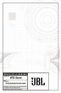 Jbl Atx 30 User Guide    Operation Manual