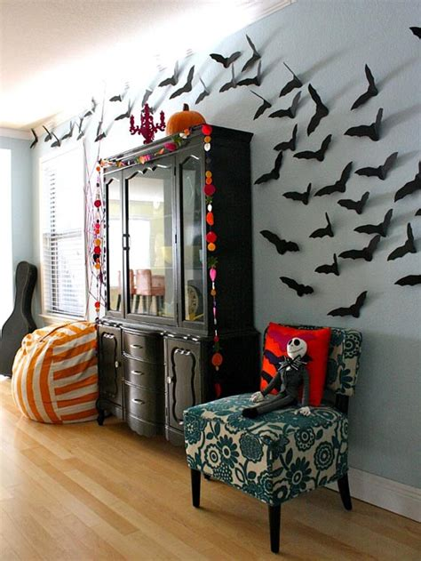 cool halloween home decoration ideas design swan