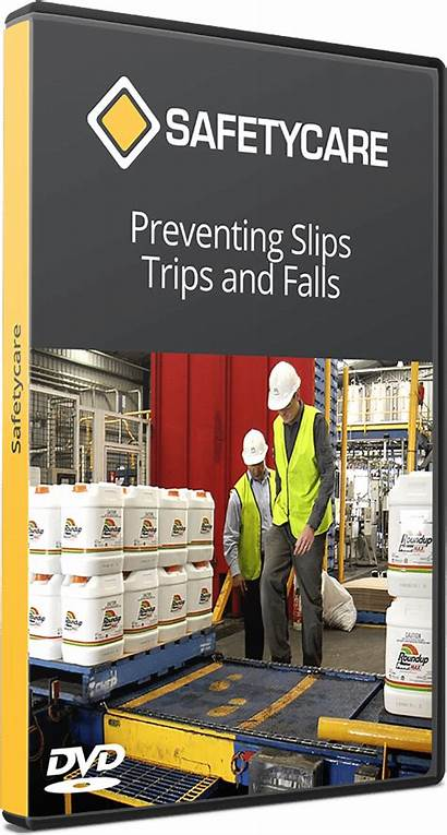 Falls Slips Trips Preventing Safety Dvd Workplace
