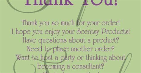 scentsy consultant   customer card custom