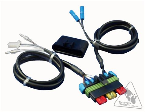 Electrical Connection Fuse Relocation Harness For Kawasaki