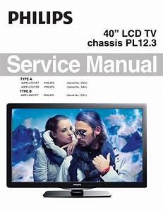 Philips 40pfl4707 40pfl4907 Service Manual And Repair