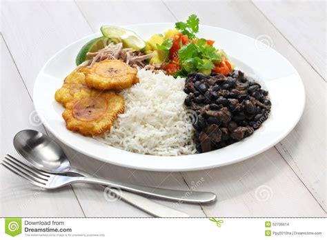cuisine cubaine cuisine cubaine photo stock image du dîner porc