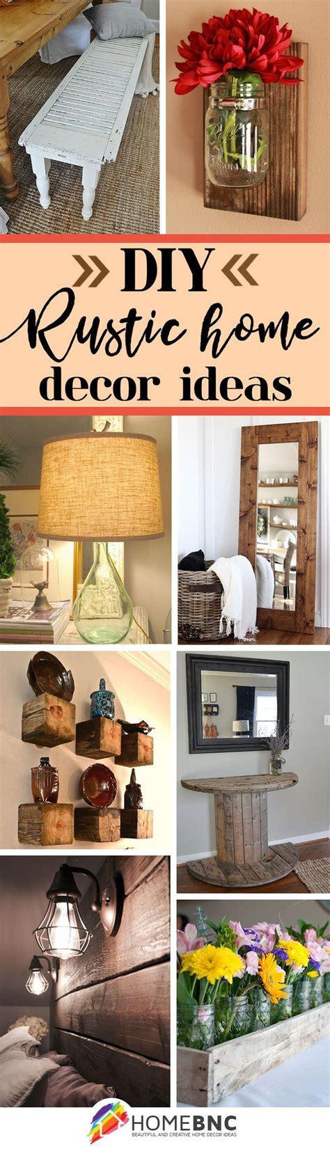 Diy Rustic Home Decor Ideas  Our Home Decor