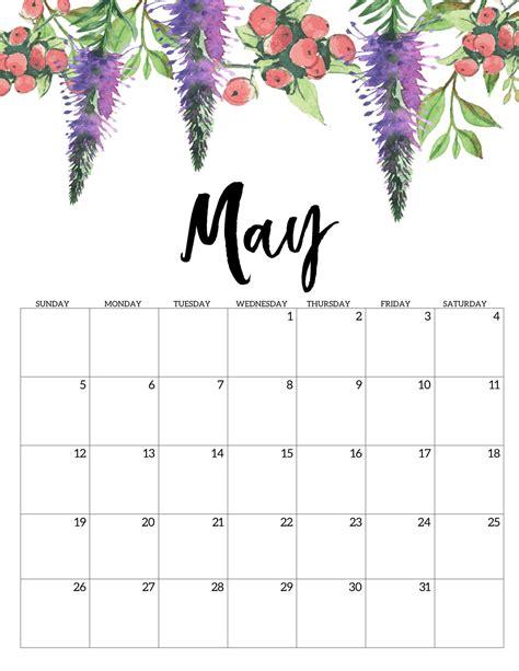 calendar portrait printable monthly calendar