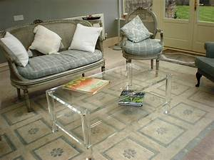 small spaces rustic living room design with square clear With small clear coffee table